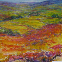 Judy Wheeler Spring Fields Pastel