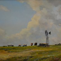 Dale Elliott | The Top Camp | Commended Oil