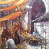 Grazyna Janik | Yellow Sunshades | Commended Oil