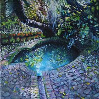Lolly Hahn-Page | Bird Bath | Commended Oil