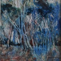 Marion Langton FSASA | Twisted Sisters | Commended Watercolour