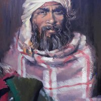 Nola Muller | Worshipper at Muktinath | Commended OIl