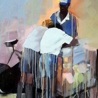 Thea Darlow | Ice Cream Daze | Commended Oil