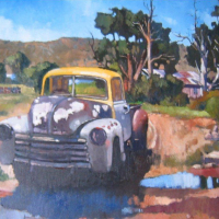Adolfo-McQue-Karoo-Chevy-Oil--Commended