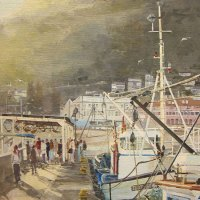 Bill-Brown---FSASA-Sunny-Winter-Afternoon---Kalk-Bay---Acrylic---Commended