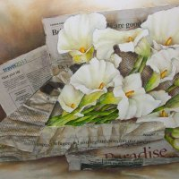 Cherry-Nichols---A-Refugees-Gift---Mixed-Media---Highly-Commended