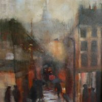 Margie-Johnson---Paris-in-Winter---Oil---Commended