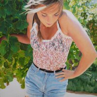 Margie-Volkwyn---Radiant-Girl---Acrylic---Commended
