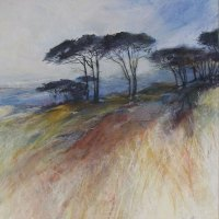 Penny-Steynor-FSASA---Mountain-Pines---Pastel---Highly-Commended