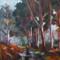 Wendy-van-Gysen---Tokai-Forest---Oil---Commended