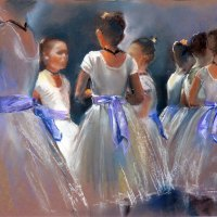 Penny-Steynor-in-the-wings-highly-commended-pastel