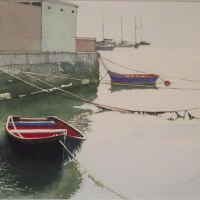 Ray-Potter-At-Rest-Simons-Town-Best-Watercolour