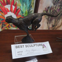 SCULPTURE---Penny-Steynot---Attack