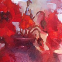 Wyn-Rossouw-FSASA-For-Love-of-Poppies-Highly-Commended-Oil