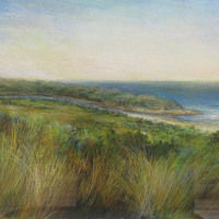 Judy Fish To the River Mouth Pastel