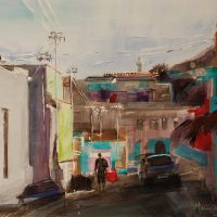 Marion-Cross---Chiappini-Bo-Kaap---Commended-Mixed-Media