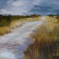 Ann-Nosworthy----Sunlit-Road---Oil---Highly-Commended