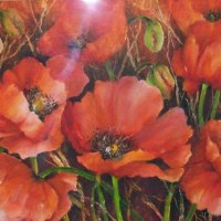 Cherry-Nichols---Fiery-Poppies---Mixed-Media---Highly-Commended