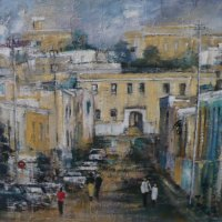 Di-White---Bo-Kaap---Mixed-Media---Commended