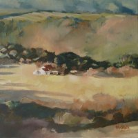 Helen-van-Stolk---Medbury-Cottage---Oil---Highly-Commended