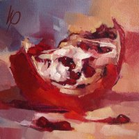 Wyn-Rossouw---Pomegranate-Slice-1---Oil---Highly-Commended